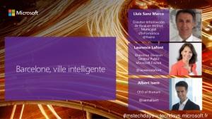 Barcelone-ville-intelligente-Microsoft Tech Days