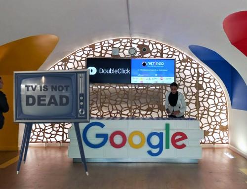 Google accueille Netineo pour la conférence sur le Programmatique TV
